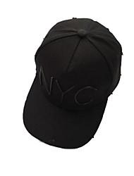 Cap/Beanie / Hat Protective / Comfortable Unisex Leisure Sports / Baseball Spring / Summer White / Black