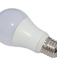 5w e27 светодиодные шариковые шарики a60 (a19) 1 cob 450-500 lm холодный белый диммируемый AC 220-240 v