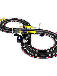 Track Rail Car Creative Model & Building Toy Car Novelty Black Plastic Children's Day