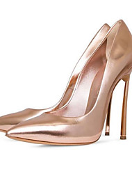 Women's Heels Spring Summer Fall Shoes & Matching Bags Glitter Office & Career Casual Party & Evening Stiletto Heel SequinSilver Gold