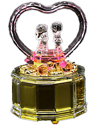 Music Box Castle in the Sky Creative Glass Silver / Gold For Boys / For Girls