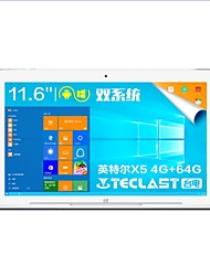 Teclast Tbook 16 Pro Android 5.1 Windows 10 Tablet RAM 4GB ROM 64GB 11.6 Inch 1920*1080 Quad Core