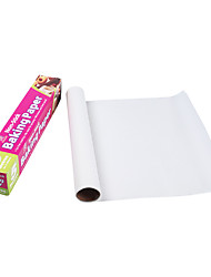 1PC Barbecue Kitchen Paper Cake Baking Paper Double-Sided Silicone Paper 5 Meters With A Sawtooth Box