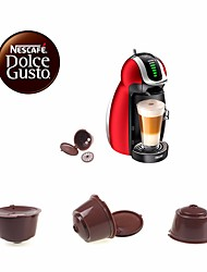 Random Color  3Pcs/Pack Use 150 Times Refillable Dolce Gusto Coffee Capsule Nescafe Dolce Gusto Reusable Capsule Dolce Gusto Capsules