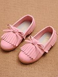 Girl's Loafers & Slip-Ons Comfort Leatherette Casual Pink