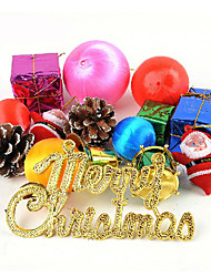 Christmas Decorations / Christmas Party Supplies / Christmas Tree Ornaments Holiday Supplies / Plastic Rainbow All/2Packs