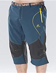 Corrida Leggings / Cropped Homens Respirável / Redutor de Suor / Confortável Nailom / Náilon Chinês Exercício e Atividade Física / Corrida