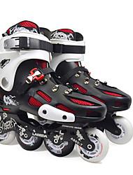 Inline-Skates Unisex Rutschfest Polsterung im Freien Leistung PU(Polyurethan) PU(Polyurethan) PVC Gummi Ski fahren Skating Freizeit Sport