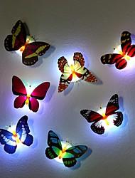 7 Farbwechsel-Schmetterling LED-Nachtlicht Lampe