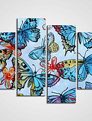 Unframed Butterfly Painting  Canvas Prints  Art  Modern Canvas Art  for Home Decor