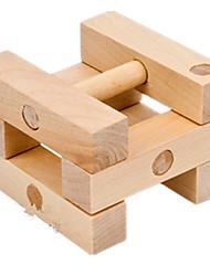 Kong Ming bloqueio Modelo e Blocos de Construção Brinquedos Madeira Cáqui Para Meninos Para Meninas 5 a 7 Anos 8 a 13 Anos 14 Anos ou Mais