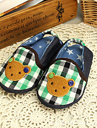 Boy's Slippers & Flip-Flops Spring Fall Others Fabric Casual Flat Heel Animal Print Blue Others