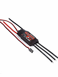 60A 2-6S Brushless ESC Speed controller RC Airplane for Hobbywing Skywalker