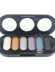 Lidschattenpalette Schimmer Lidschatten-Palette Puder NormalAlltag Make-up Halloween Make-up Party Make-up Feen Makeup Cateye Makeup