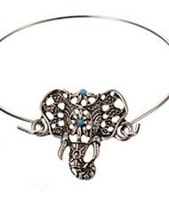 Bracelet Bangles Alloy Animal Shape Party Jewelry Gift Silver,1pc