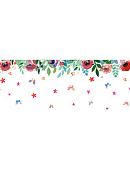 Wall Stickers Wall Decals Style Creative Flowers PVC Wall Stickers