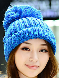 Winter New Women 'S Wool Ball Cap Women' S Autumn And Winter Fashionable Hats Straight Hat