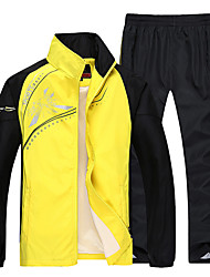 Men's Long Sleeve Running Sweatshirt Tracksuit Clothing Sets/Suits Breathable Spring Summer Fall/Autumn Winter Sports WearLeisure Sports