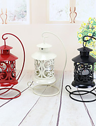 Wholesale Iron Wedding Candlestick Creative Wedding Party Desktop Decorations Candlestick Valentine's day Decorations Color Random