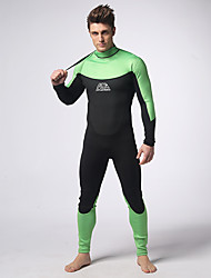 Men's 3mm Wetsuits Drysuits Full Wetsuit Waterproof Thermal / Warm Wearable Comfortable Full Body Neoprene SBR Diving Suit Diving Suits-