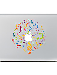 1 ед. Защита от царапин Композиция с логотипом Apple Прозрачный пластик Стикер для корпуса Узор ДляMacBook Pro 15'' with Retina MacBook