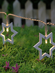Wedding Hexagonal Star Light String With Ten  A Lamp