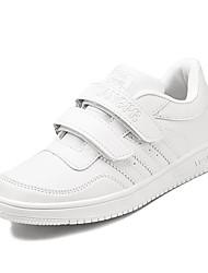 Boy's Sneakers Fall / Winter Comfort PU Outdoor / Athletic Flat Heel Magic Tape White Sneaker