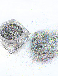 1bottle Nagel-Kunst-Dekoration Strassperlen Make-up kosmetische Nagelkunst Design