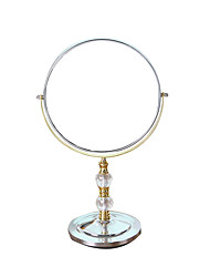 Mirror Stainless Steel Metal Round 27 Normal Blonde Silver