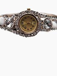 Женские Часы-браслет Механические, с ручным заводом сплав Группа Богемные Кольцеобразный Золотистый