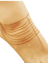 Women's Rose Gold  Anklet Jewelry 1pc