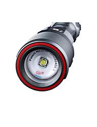 Supfire Torce LED LED 800 Lumens Modo Cree T6 Batteria al litio Compatta Facile da portareCampeggio/Escursionismo/Speleologia Uso