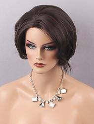 Femme Perruque Naturelles Dentelle Cheveux humains Lace Front Densité Ondulés Perruque Auburn Blond Fraise / Medium Auburn Medium Doré
