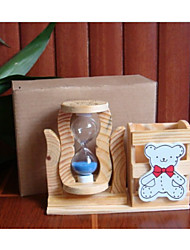 Hourglasses Holiday Supplies Toys Wood