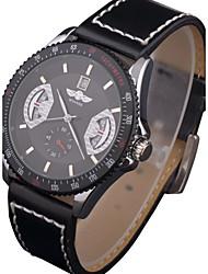 Мужской Спортивные часы Армейские часы Нарядные часы Модные часы Механические часы Календарь Защита от влаги С автоподзаводомНатуральная