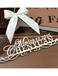 Mariée Marié Fille d'honneur Groom Cortège fille Couple Parents Bois Cadeau créatif Mariage