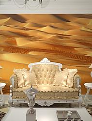 JAMMORY Golden Desert Wallpaper Personality Wallpaper Mural  Wall Covering Canvas Material Golden Church XL XXL XXXL