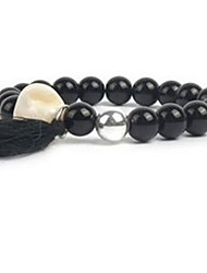 Women's Strand Bracelet Beaded Gemstone Pearl Shell Jewelry For Casual 1pc
