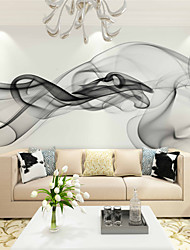 JAMMORY Art DecoWallpaper For Home Wall Covering Canvas Adhesive required Mural Smoke background XL XXL XXXL