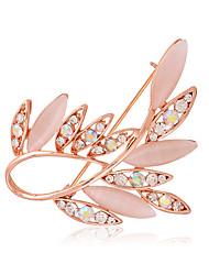 das mulheres liga ol moda / strass / broches opala pino do casamento / festa / dia / luxo casual jóias 1pc