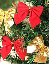 Орнаменты Наборы наклеек Без огней Цветочные/ботанический Рождественские украшения