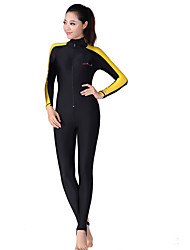 Dive&Sail Women's Dive Skins Wetsuit Skin Full Wetsuit Waterproof Thermal / Warm Ultraviolet Resistant Wearable Comfortable Full Body