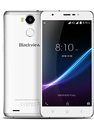 "Blackview R6 5.4 "" Android 6.0 Smartphone 4G ( Double SIM Huit Cœurs 13 MP 3GB + 32 GB Gris Doré Argenté )"