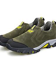 Зеленый Серый-Мужской-Для занятий спортом-Полиуретан-На плоской подошве-Другое-Спортивная обувь