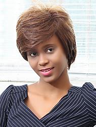 scoppi obliqui parrucca breve rettilineo umani per le donne nere