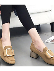 Damen-High Heels-Lässig-KunstlederAndere-Khaki