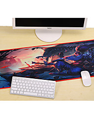Professional Custom Computer Game League of Legends Yasso Gaming Mouse Pad Used for  Deskop And Laptop Computer 30x80x0.2cm