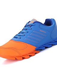 Синий Красный Оранжевый-Мужской-Для занятий спортом-Ткань-На плоской подошве-Удобная обувь-Спортивная обувь