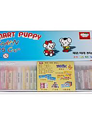 25 crayons de couleur peinture bâton de stylo de couleur pour les enfants ne se décolorent pas de couleur vive