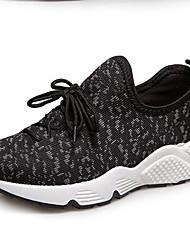 Для женщин Спортивная обувь сутулятся сапоги Удобная обувь Полиуретан Осень Зима Повседневные Для прогулок сутулятся сапоги Удобная обувь